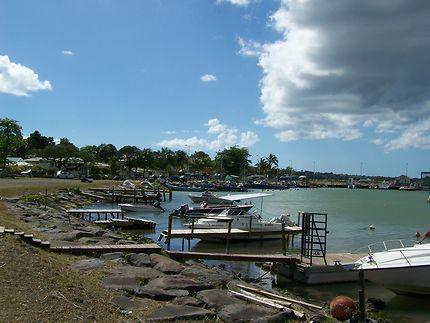 Port de Sainte-Rose en Guadeloupe