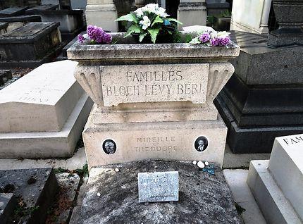 Tombe de Mireille