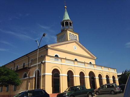 La cathédrale Saint-Sauveur à Cayenne