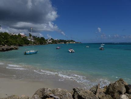 Plage du Gosier en Guadeloupe
