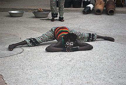 Clown africain