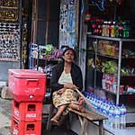 Epicier à Bali