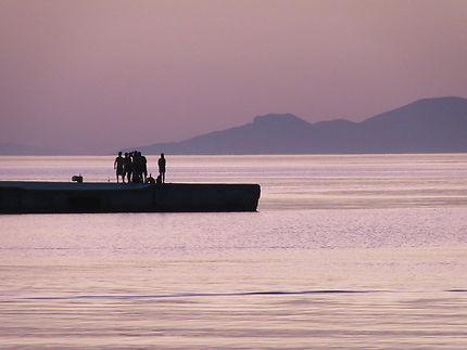Fin de journée à Amorgos