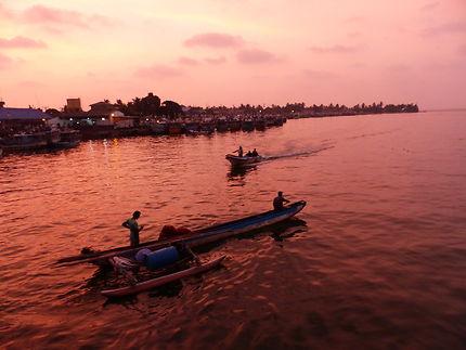 Negombo - Coucher de soleil