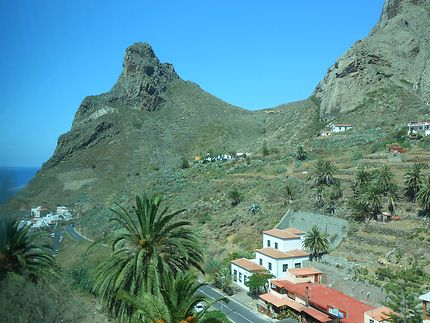 En descendant sur Taganana, Tenerife
