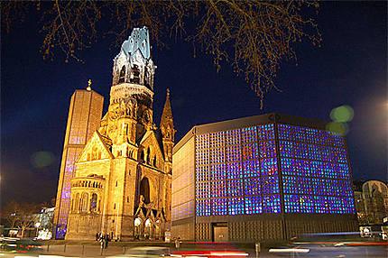 Breitscheidplatz by night