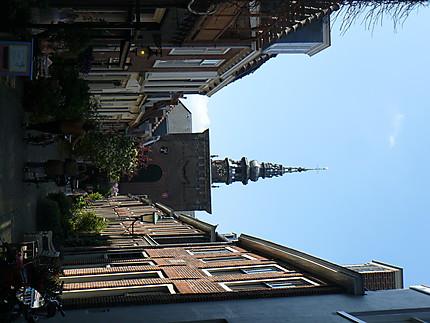 Ruelle fleurie à Haarlem