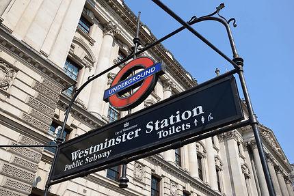 Station Westminster...