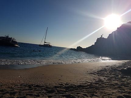 Sunset Shell Beach