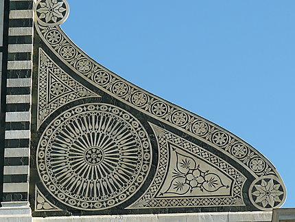 Eglise de Santa Maria Novella - détail façade