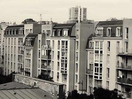 Façade d'immeubles Rue Robert-Houdin