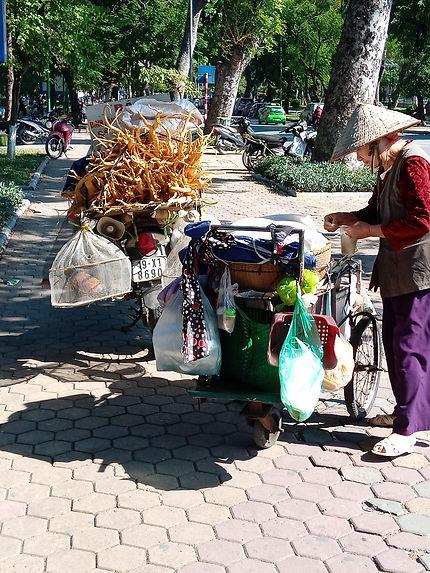 Old quarter à Hanoi