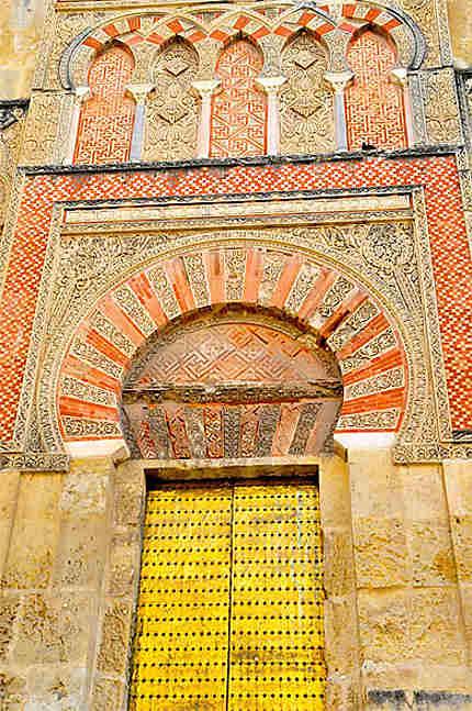 Porte ld log de la Mezquita
