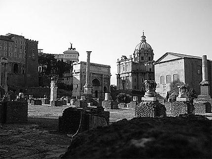 Antiquités En Noir Et Blanc Noir Et Blanc Rome Antique
