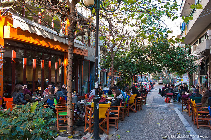 Exarchia : l'Athènes alter