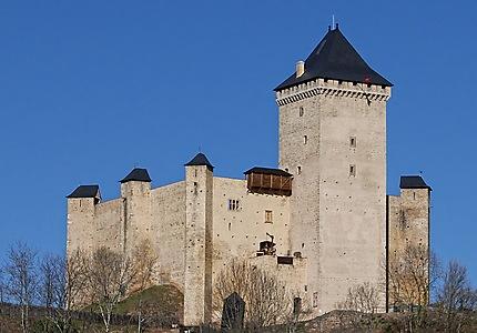 Château fort de Mauvezin restauré