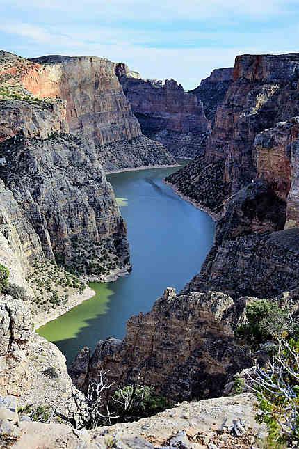 Majestueux canyon