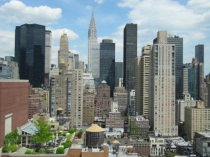 Terrasse de rêve à New York