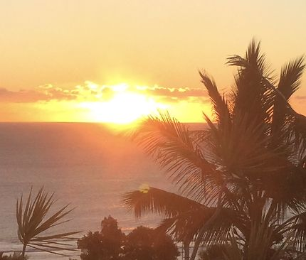 Sunset à St-Leu de La Réunion