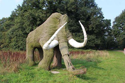 Mammouth près des Dolmens d'Emmen