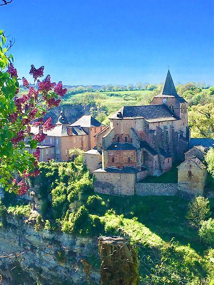 Eglise sainte Fauste à Bozouls