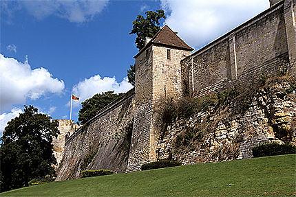 Remparts, château, Caen
