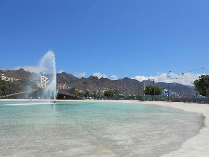 Fontaine à Santa Cruz de Tenerife