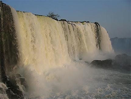 Chute d'Iguazu en fin de journée