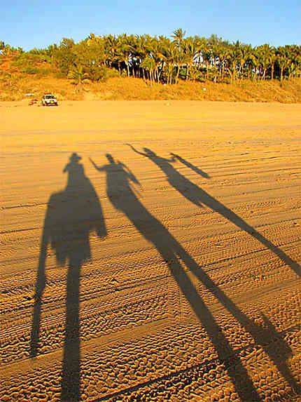 """L'immensité de la célèbre plage """"Cabble Beach"""""""