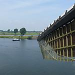 Vue sur la Meuse à Heusden