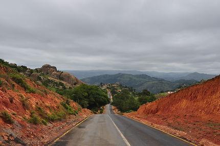 En traversant le Swaziland