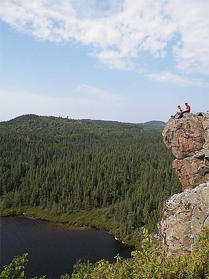 Perchés au sommet