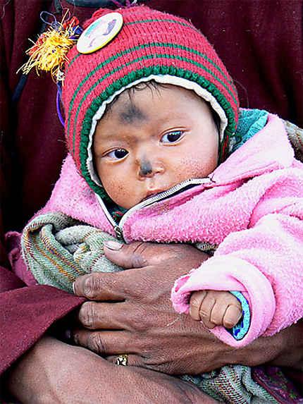 Bébé ladakhi
