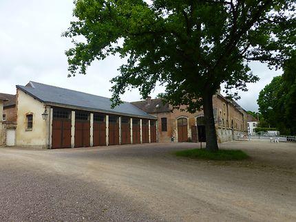 Cour historique des Haras du Pin