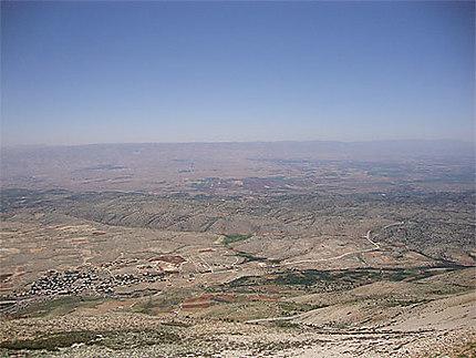 Vue de la Bekaa