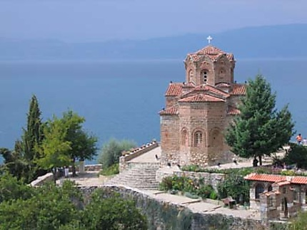 Ohrid : Eglise St Jean de la Canée