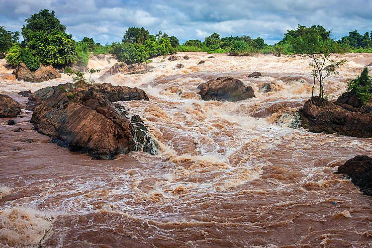 Les 4 000 îles de Siphandone (Laos)
