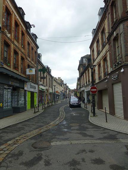 Rue commerçante de l'Aigle