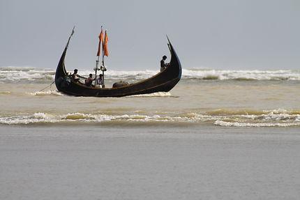 Bateau de pêche à Cox's Bazar