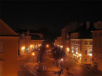 Place Kampa, le soir...