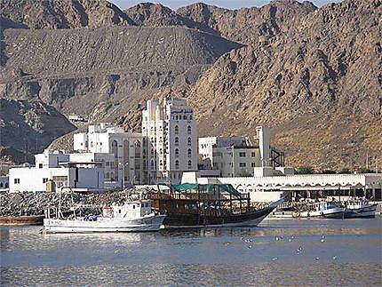Le port de Muttrah