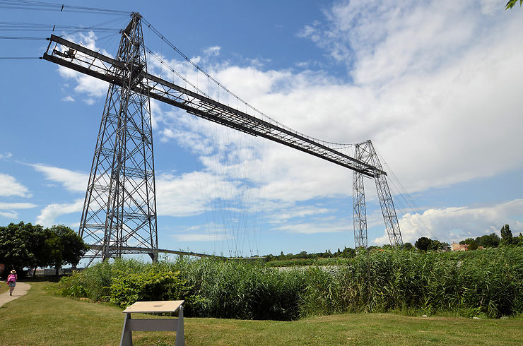 Charente-Maritime - Le Pont Transbordeur de Rochefort a repris du service cet été