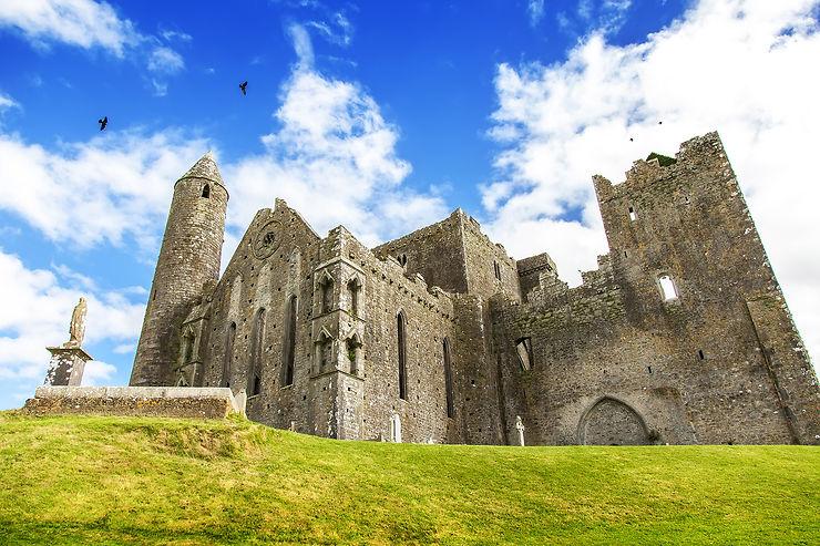 Le Rock of Cashel, berceau du trèfle irlandais