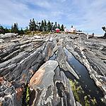 Formes au Pemaquid Point Lighthouse Park