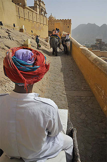 Jaipur, le Fort d'Ambert