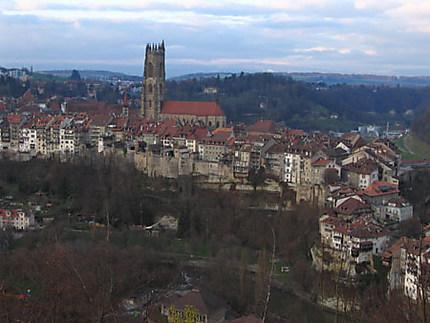 Fribourg,la ville basse