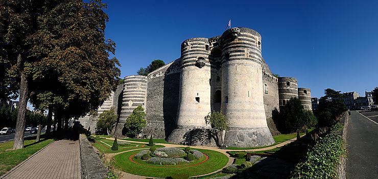 Le château du « Bon Roi René » à Angers
