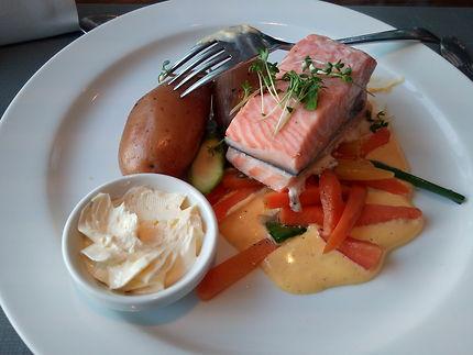 Pavé de saumon d'Aukra, en Norvège