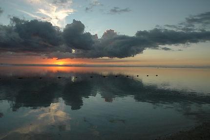 Coucher de soleil à l'Île Maurice