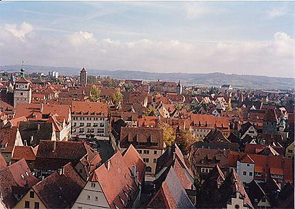 Vue de Rothenburg